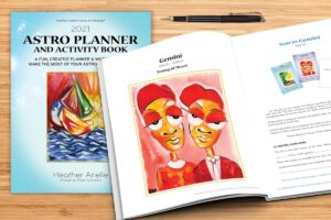 astrology planner activity book
